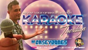 Karaoke w/Casey Jones
