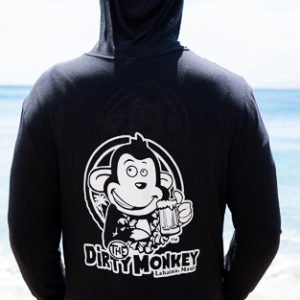 Maui Winter Light Hoodie Black