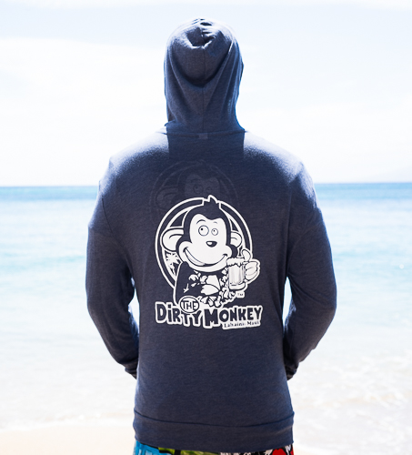 Mui Winter Light Hoodie Blue